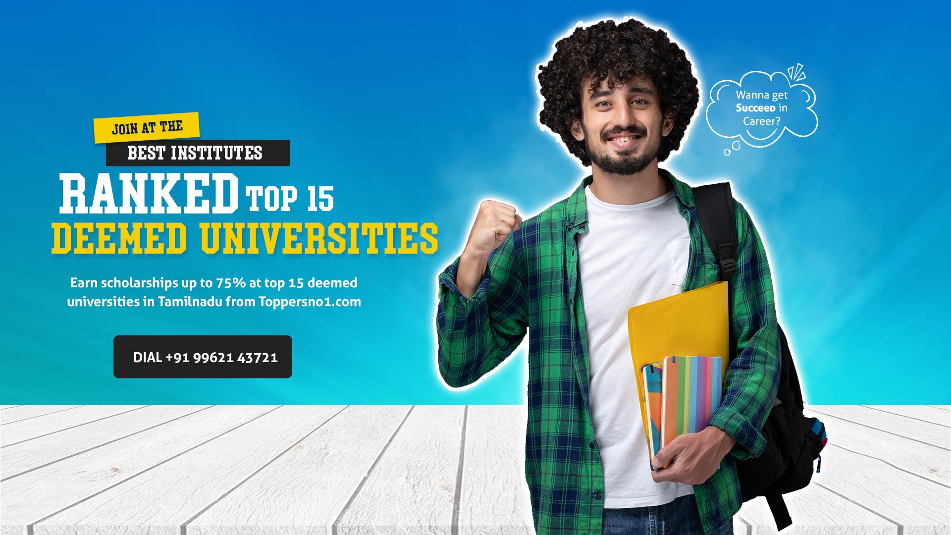 Top deemed University in Tamilnadu