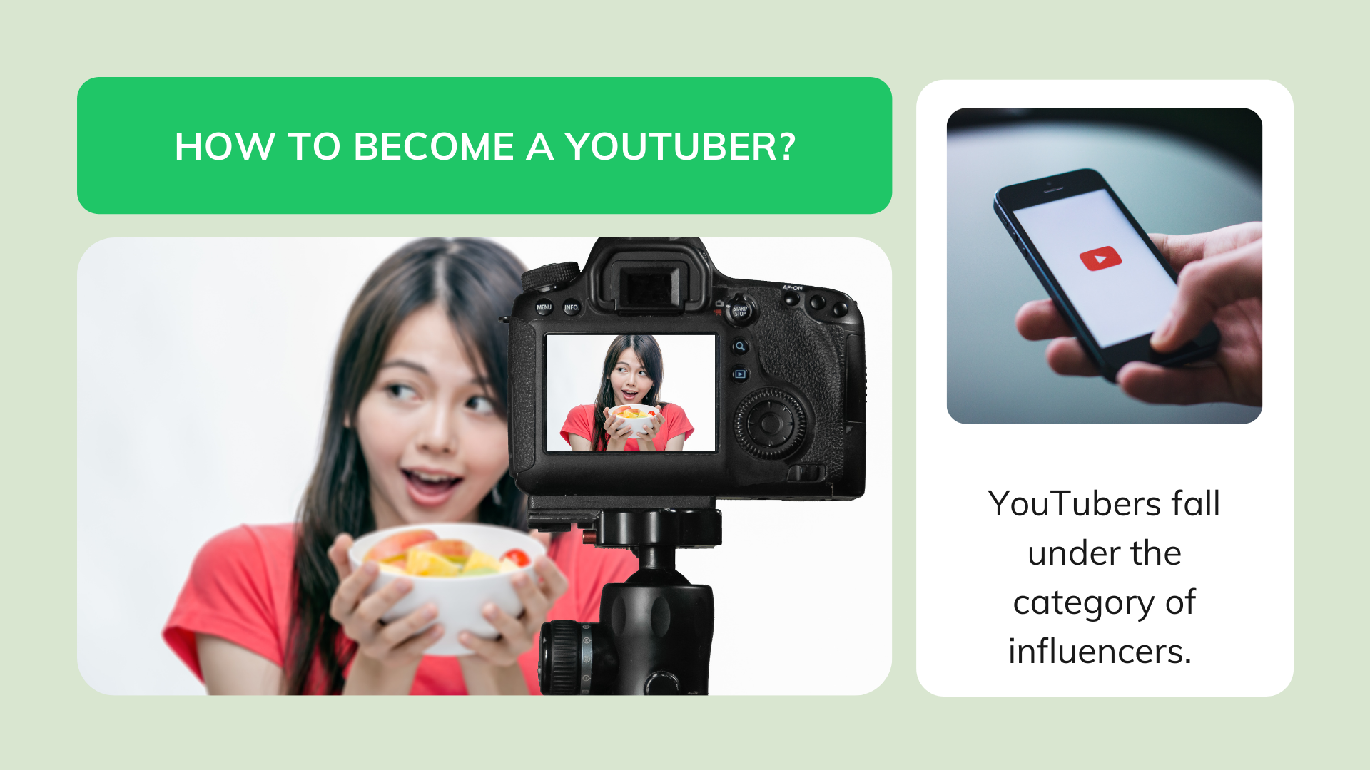 How to become a YouTuber?