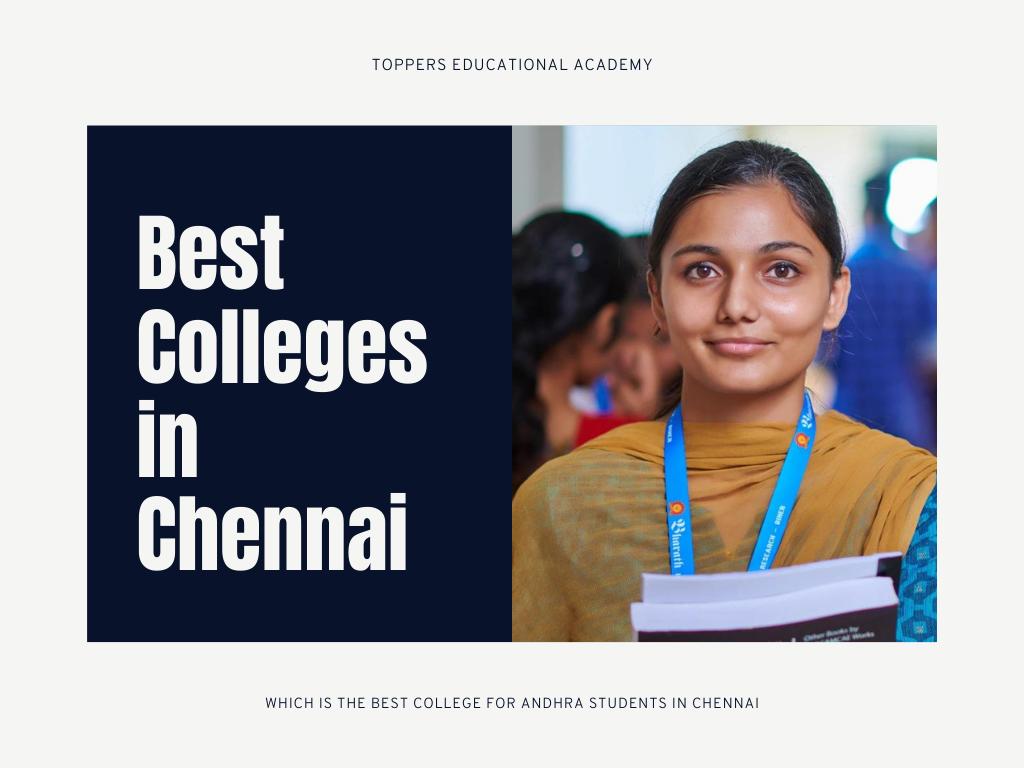 Best Colleges in Chennai