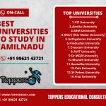 Best universities to study